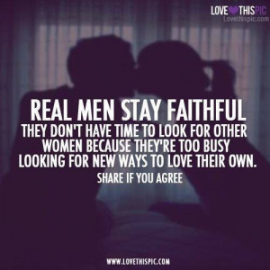 Real men quote