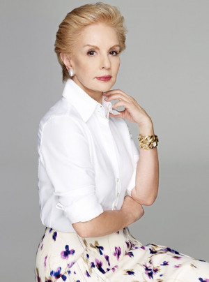 carolina herrera Fashion designer from Venezuela. What a lady! http ...