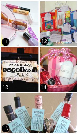Bridal Shower Gift Basket Ideas