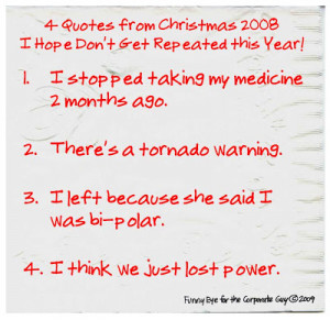 Christmas Quotes That Don't Need Repeating