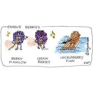 Cartoon Fruit Clipart - Cute Funny Sayings