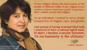 Taslima Nasrin Quotes