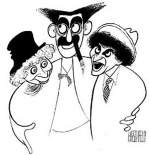 ... Caricatures, Marx Bros, Marx Brothers, Artsy Fartsy, Al Hirschfeld
