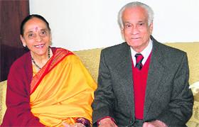 Vikram Seth's parents, Leila and Premnath Seth