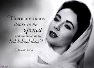 Elizabeth Taylor Quotes Liz taylor quote