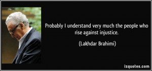 More Lakhdar Brahimi Quotes