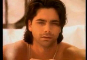 Uncle Jesse whose hair is never messy