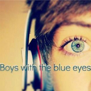 Boys with blue eyes