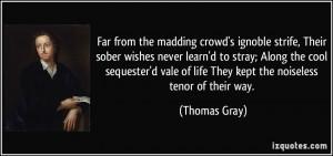 More Thomas Gray Quotes