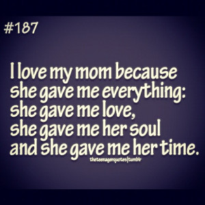 Love My mom mom quotes