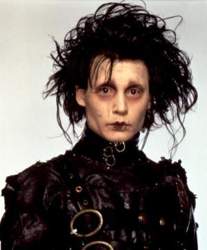 Edward Scissorhands (played by Johnny Depp)