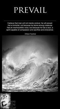 He Will Prevail...William Faulkner