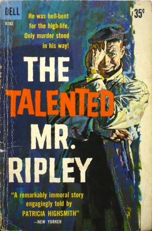 ... The Talented Mr. Ripley by Patricia Highsmith (Dell Paperback, 1959