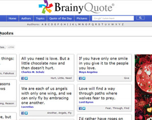 day quotes brainy quote com Words Say a Lot: Express Your Love ...