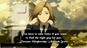 Darzana Magbaredge Aldnoah.Zero Quotes