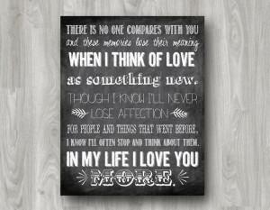 In My Life Lyrics Quote by The Beatles Typography Printable - Custom ...