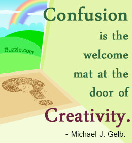 Michael Gelb on confusion and creativity