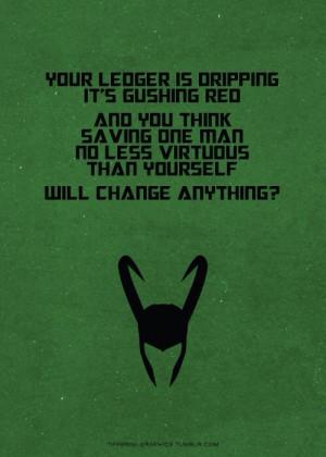 Loki Quote : Avengers movie