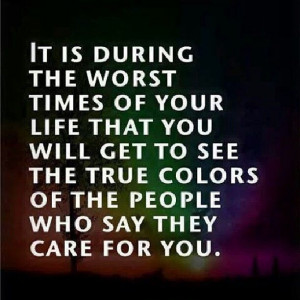 Fake and selfish people. The sad truth.