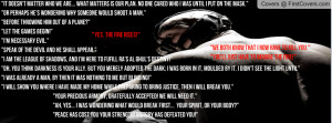 Bane Quotes Profile Facebook Covers