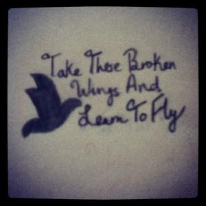 Beatles quote tattoo