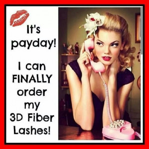 It's payday baby! Let's get those orders in! Visit my website to order ...
