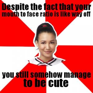 Tags: Santana Lopez Naya Rivera Glee