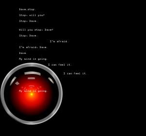 Hal 9000 by TwistedMidnightDream