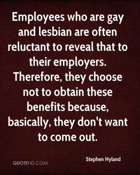 ... obtain these benefits because, basically, they don't want to come out