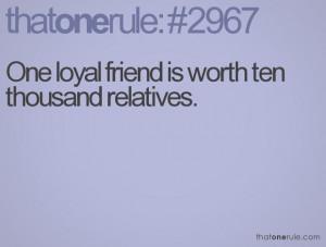 loyal friends