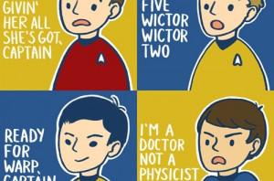 Classic Star Trek Quotes