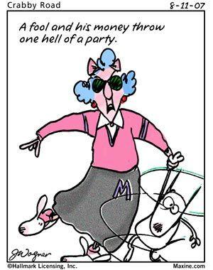 Retirement Jokes Cartoons | Maxine Cartoons Retirement
