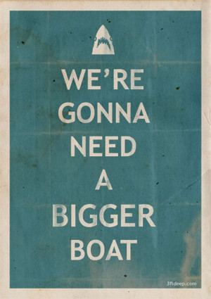 Excellent quote & poster from JAWS