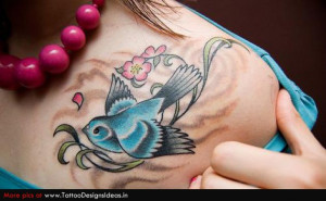 Dove Bird Tattoos With Quotes Bird tattoos