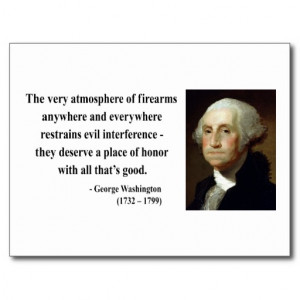George Washington Quote 7b Post Cards
