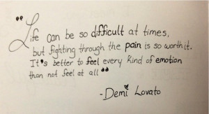 demi lovato, inspiration, lovatics, quotes, staying strong, stay ...