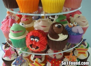 So I Found: Muppet Cupcakes