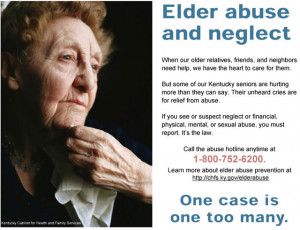 Elder Abuse And Neglect.