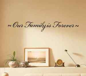Together Make Family Wall Art Quotes Stickers Living Room