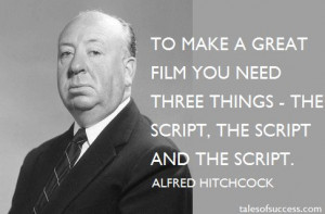 Studio publicity photo of Alfred Hitchcock (1955). Hitchcock is known ...