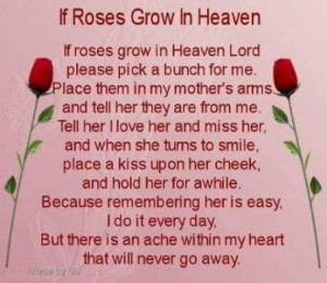 Rose, Mom Birthday, Happy Birthday, Mothers Day, Quotes, Miss You Mom ...