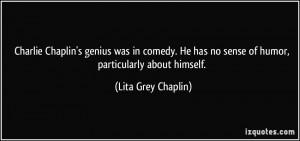 Lita Grey Chaplin Quote