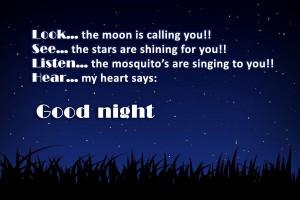 My Heart Says Good Night
