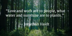 Jonathan Haidt quote