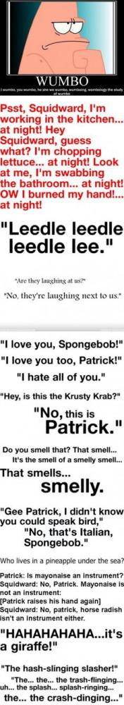 Spongebob Squarepants Bad Quotes Spongebob squarepants quotes