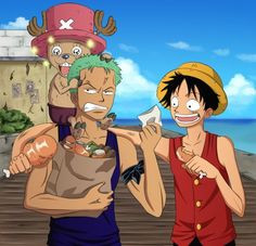 Funny and inspirational quotes from the anime, One Piece More