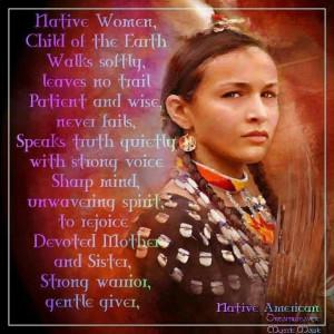 Native Women   And a prayer