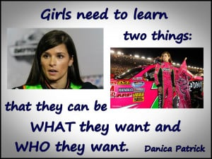 Danica Patrick NASCAR Driver Photo Quote Mini Poster Wall Art Print 8 ...