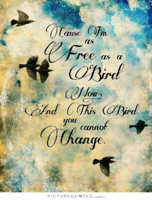 Change Quotes Free Quotes Bird Quotes Lynyrd Skynyrd Quotes