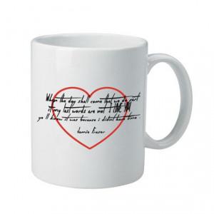 Outlander Inspired Jamie Fraser Love Quote